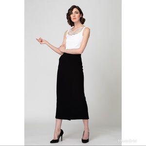 Joseph Ribkoff Black Midi Skirt